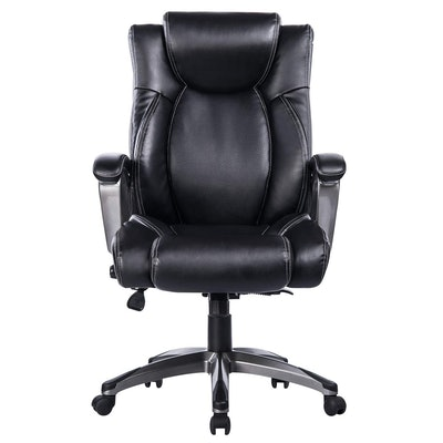 VANBOW Leather Memory Foam Office Chair