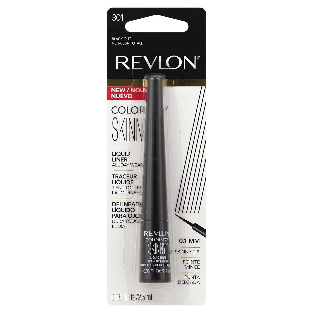 Revlon Colorstay Skinny Liquid Liner, 301 Black Out, 0.08 Fl Oz