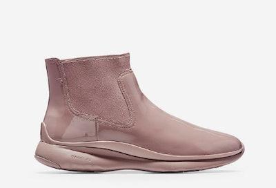 Women's 3.ZERØGRAND Waterproof Chelsea Boot in Twilight Mauve Waterproof Patent