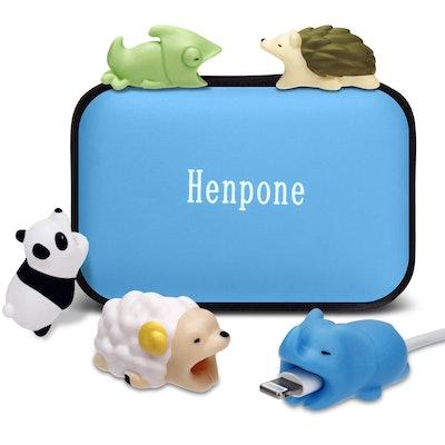 Henpone Cute Animal Cable Bites
