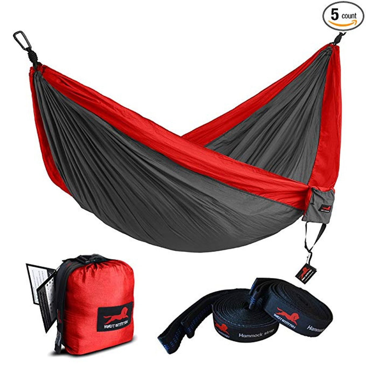 Honest Outfitters Single And Double Camping Hammock with Hammock