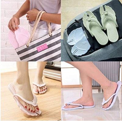 ARSTART Foldable Flip Flops