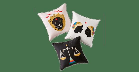 Holli Zollinger For Deny Zodiac Throw Pillow