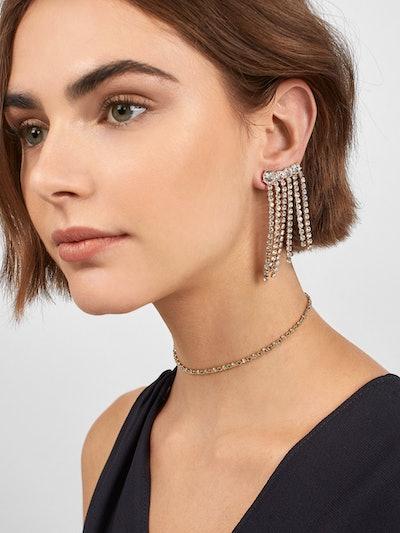 Black Tie Optional Drop Earrings