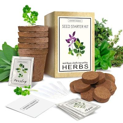 Sower's Source Herbe Garden Starter Kit