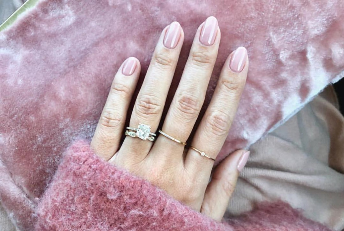8 Engagement Nail Polishes That Emphasize Your Stone's Sparkle