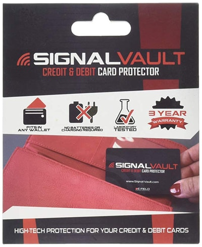 SignalVault RFID Blocking Credit Card Protector