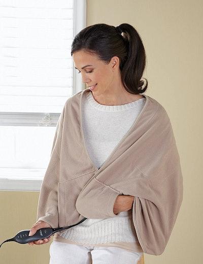 Sunbeam Chill Away Heated Fleece Wrap