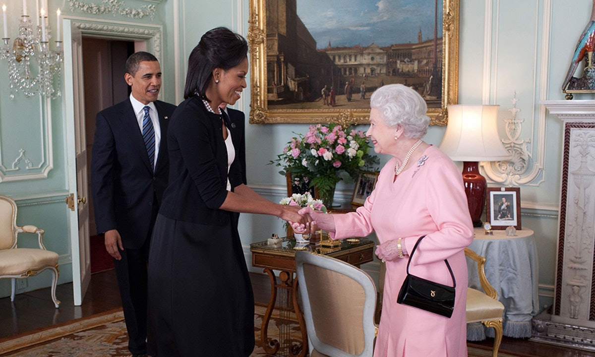 Michelle Obama & Queen Elizabeth's Heels Are The Reason Behind Their Special Bond