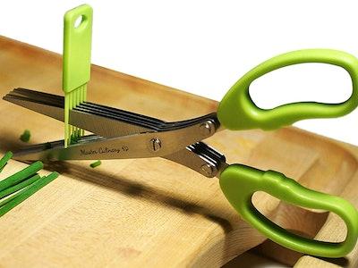 Master Culinary Herb Scissors