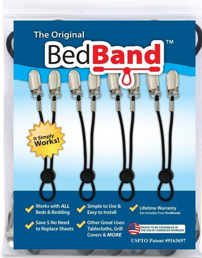 Bed Band Bed Sheet Holder (4 Pack)