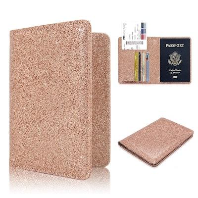 ACdream Sparkly Passport Wallet