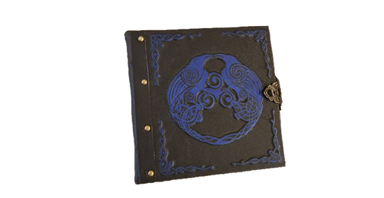 Personalized Leather Grimoire