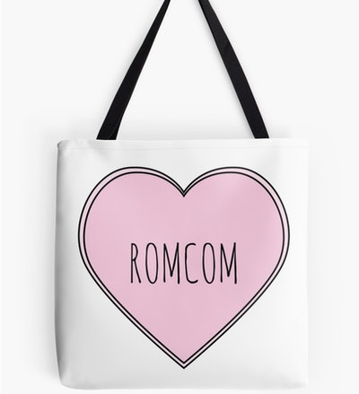 'Rom-Com' Heart Tote Bag