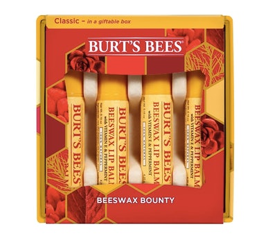 Burt's Bees Beeswax Bounty Classic Holiday Gift Set Skin Care Collection