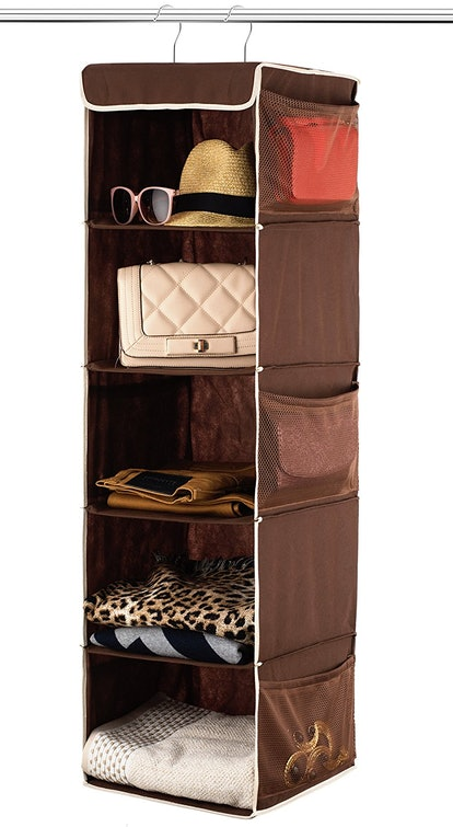 Zober 5 Shelf Hanging Closet Organizer