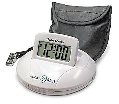 Sonic Alert Portable Alarm Clock