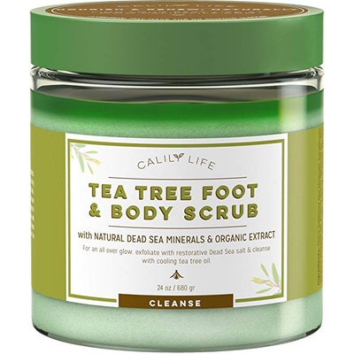 Calily Tea Tree Foot And Body Scrub