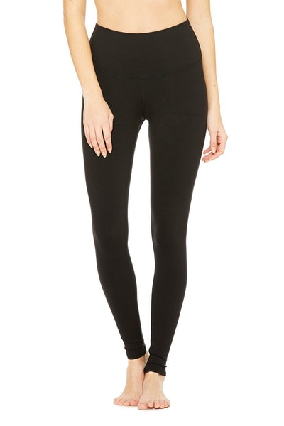 High-Waist Airbrush Legging in Black
