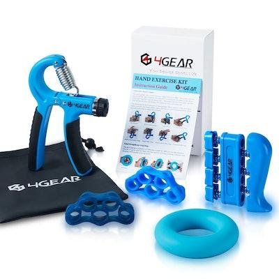 4Gear Hand Grip Strengthener Kit