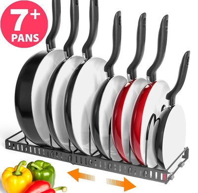 Better Things Home Expandable Pan Organizer