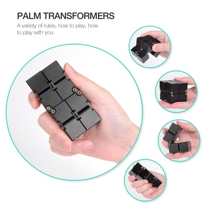 Aluminum Alloy Infinity Magic Cube
