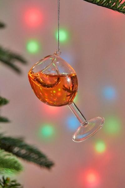 Rosé Ornament
