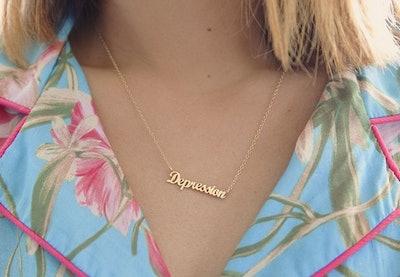 Depression Necklace | Jen Gotch x Iconery