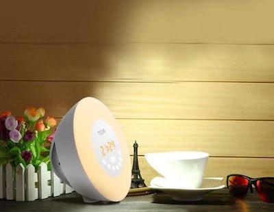MOSCHE Wake-Up Light Alarm Clock
