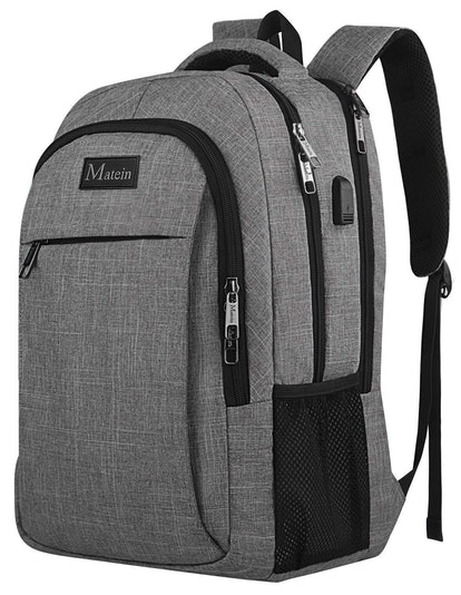 Matein USB Travel Laptop Backpack