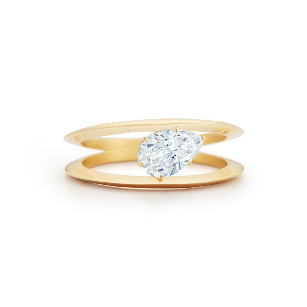 Sadie Solitaire Ring