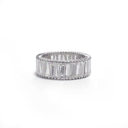 Tapered Baguette Eternity Band