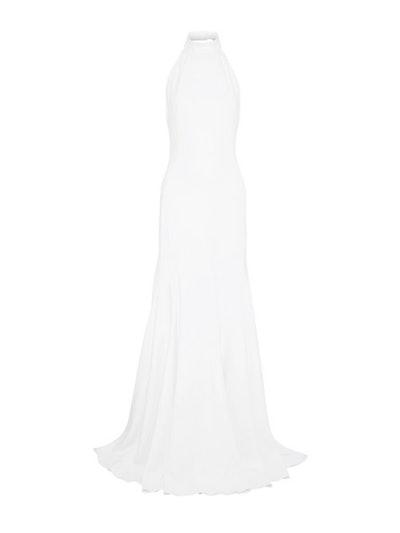 Crepe Halterneck Gown