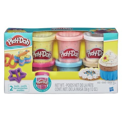 Play-Doh Confetti 6 Pack with Tools