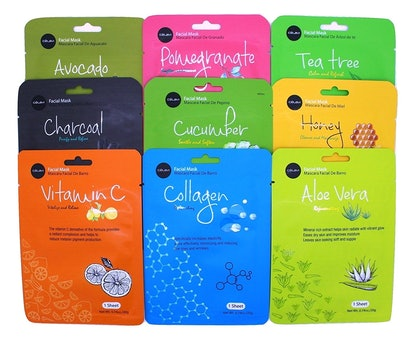 Celavi Sheet Masks (9 Pack)