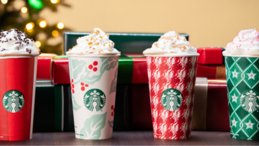 Starbucks Christmas Drinks 2018.The Starbucks Holiday Drinks With The Most Caffeine Will