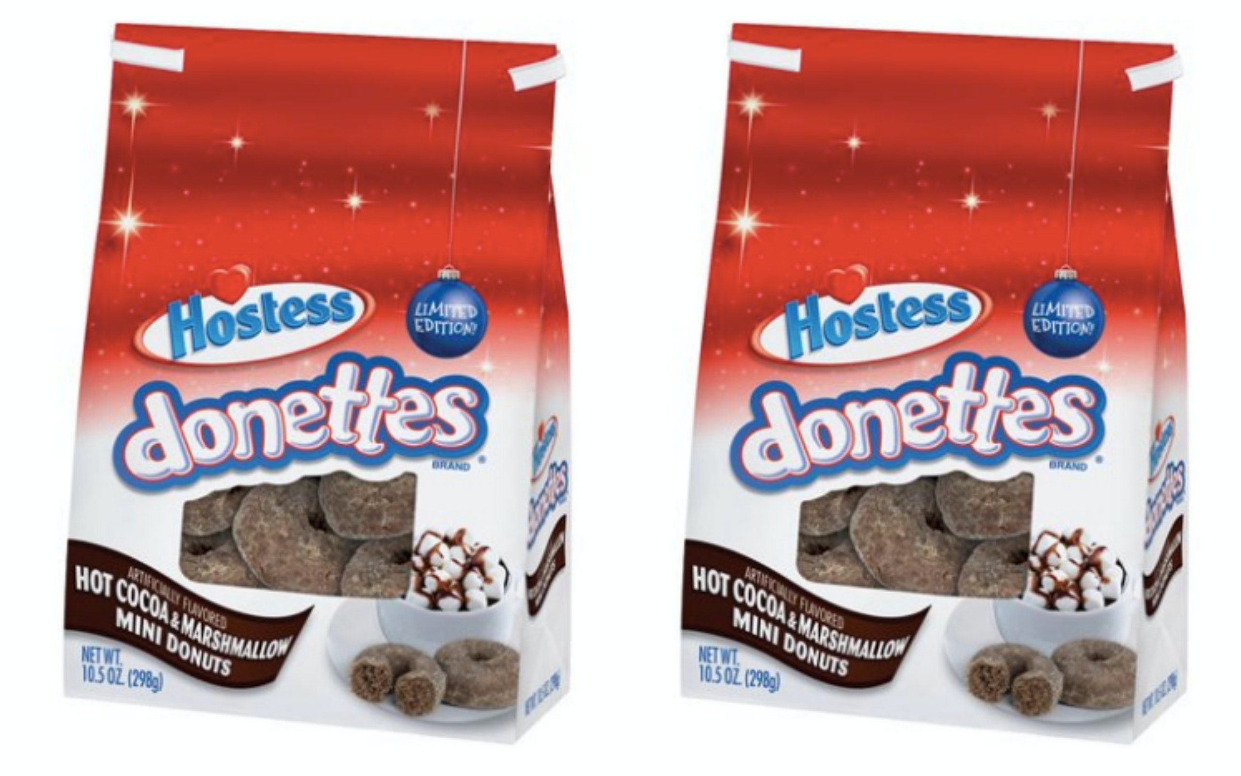 Hostesss Hot Cocoa Marshmallow Flavored Mini Donuts Are Available