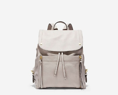 Jade Backpack in Dove Leather