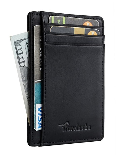 Travelambo Front Pocket Leather Wallet