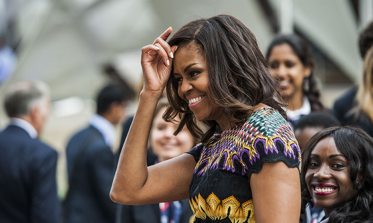 Michelle Obama's 'Becoming' Clothing Line Includes The Best Graphic T-Shirts