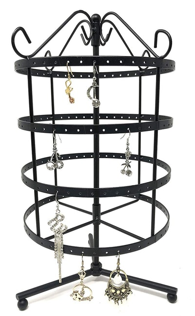 Bejeweled Display Rotating Jewelry Stand