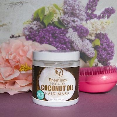 Premium Nature Coconut Oil Hair Mask