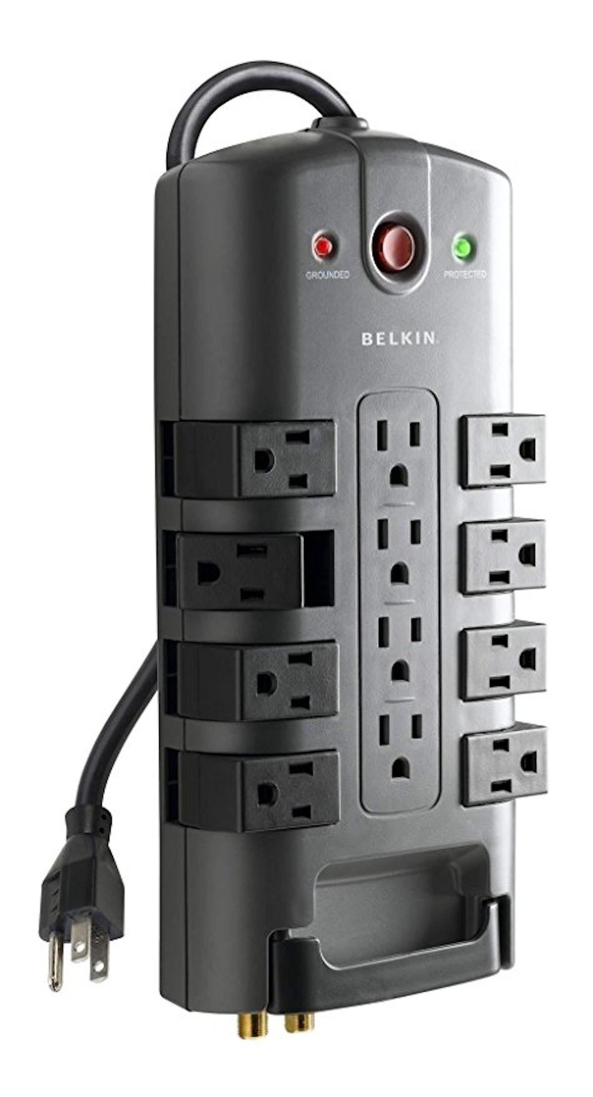 Belkin 12-Outlet Pivot-Plug Power Strip