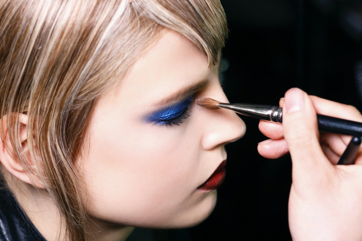 How To Wear Blue Eyeshadow Without Evoking The '80s