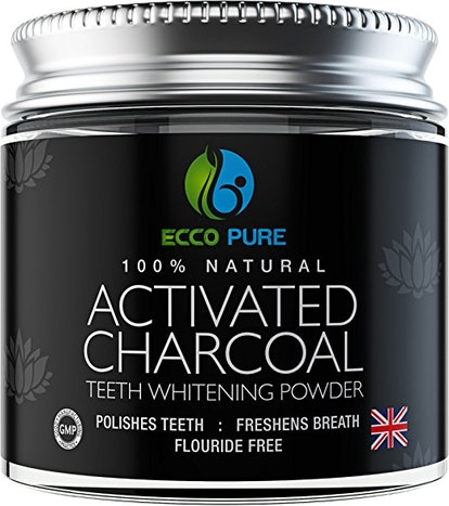 Activated Charcoal Natural Teeth Whitening Powder