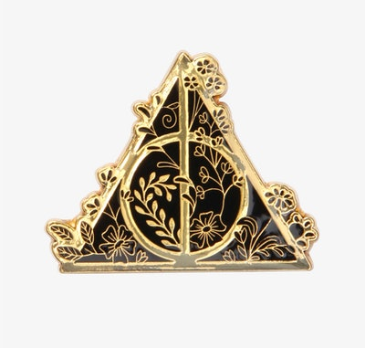 Harry Potter Golden Deathly Hallows Enamel Pin - BoxLunch Exclusive