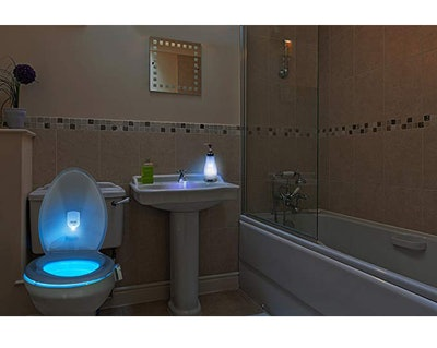 Illumibowl LED Toilet Night Light
