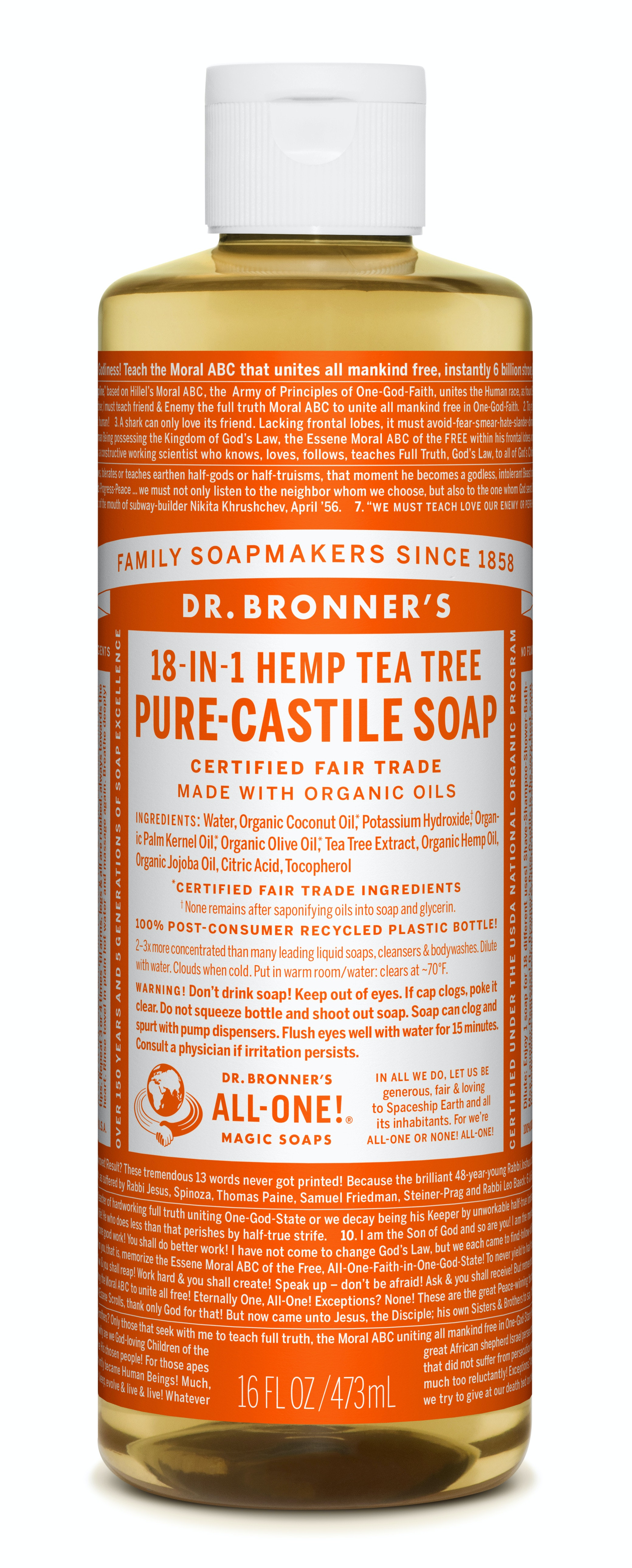 Dr  Bronner's Is Now At Walmart com — Here's What You Should Buy