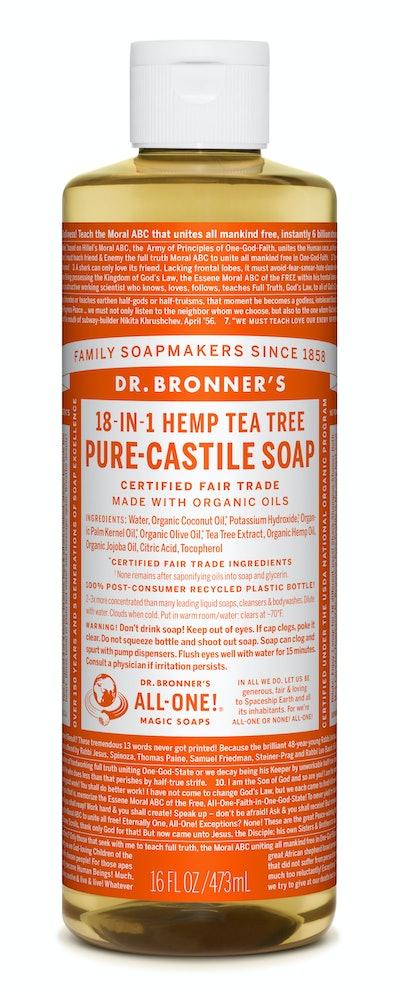 Dr. Bronner's Tea Tree Pure Castile Liquid Soap