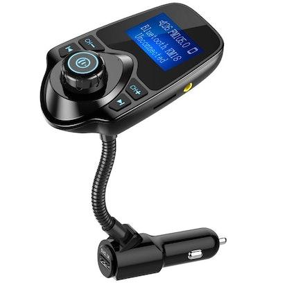 Nulaxy Wireless In Car Bluetooth Radio Adapter